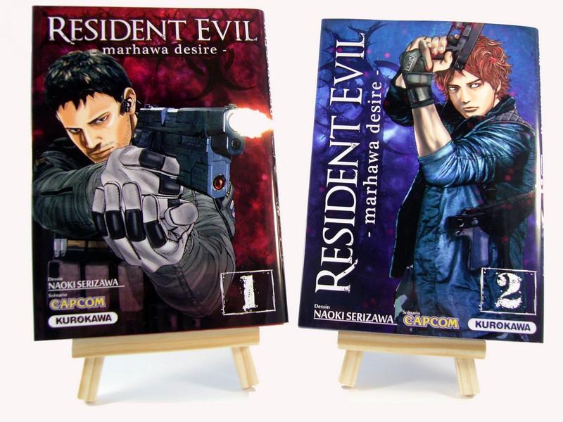 Mangas Resident Evil