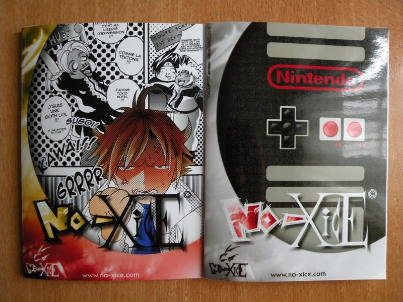 Fanzine No-Xice n° 13 et 14