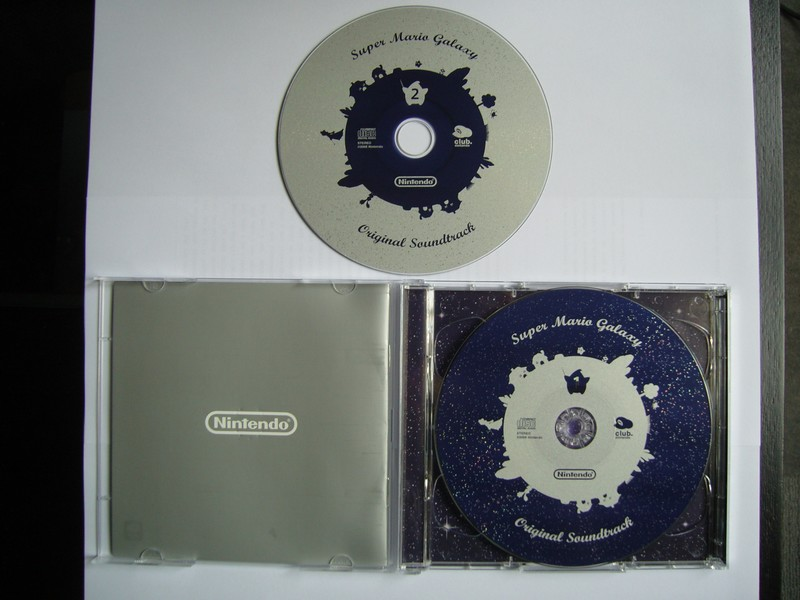 Super Mario Galaxy Original Soundtrack Platinum Edition - Club Nintendo France 2008