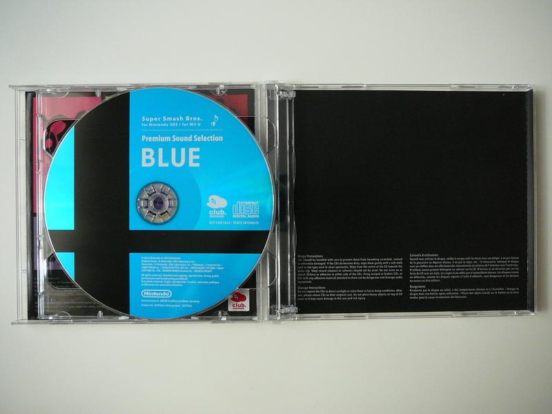 Super Smash Bros. Premium Sound Selection – Club Nintendo France (2015)