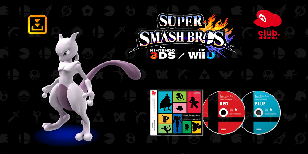 Super Smash Bros. Premium Sound Selection – Club Nintendo France (2015)
