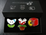 Lot de broches Mario Kart 8 – Club Nintendo France (2014)