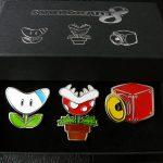 Lot de broches Mario Kart 8 – Club Nintendo France (2014)