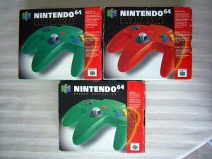 Manettes Nintendo 64