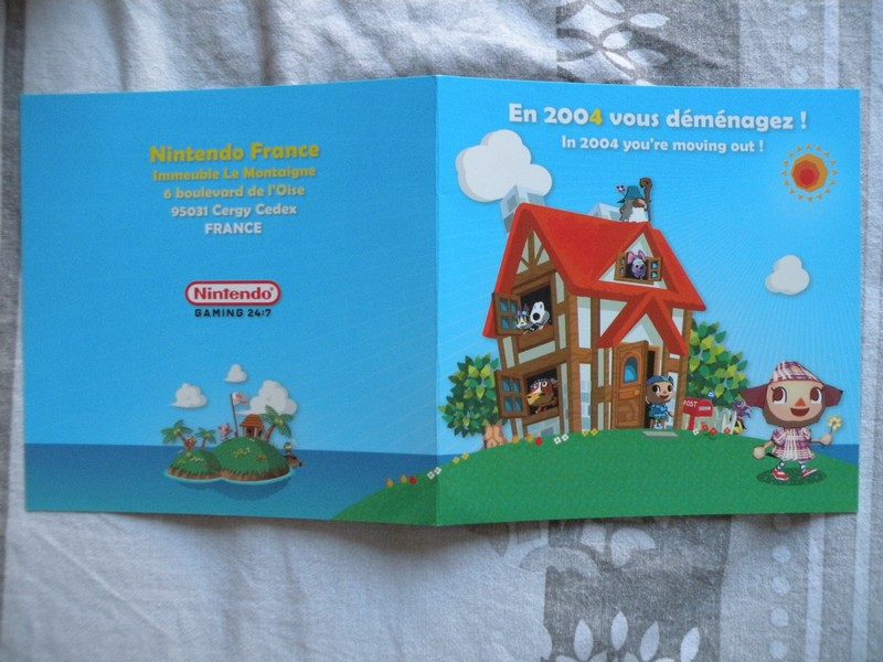 Brochure Animal Crossing GameCube