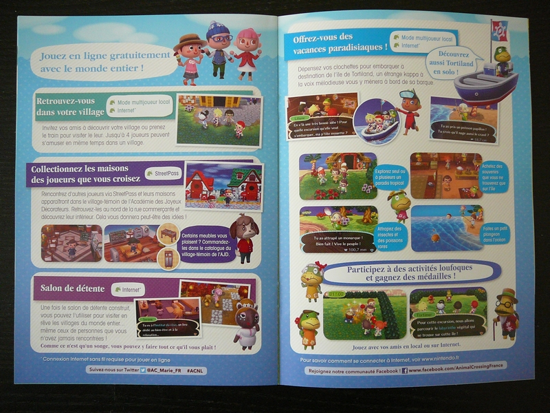 Brochure Animal Crossing : New Leaf