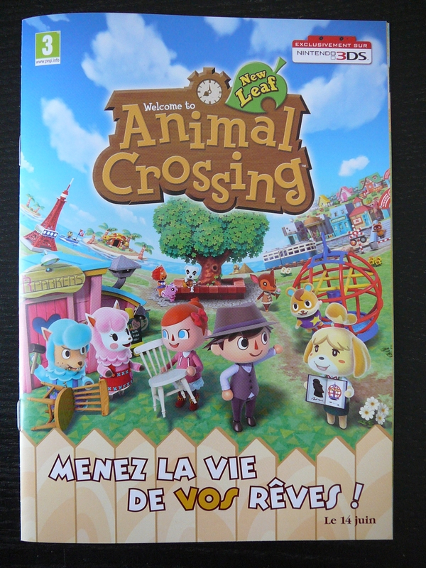 Brochure Animal Crossing : New Leaf