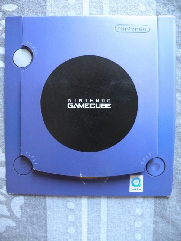 Mini DVD de présentation Nintendo GameCube