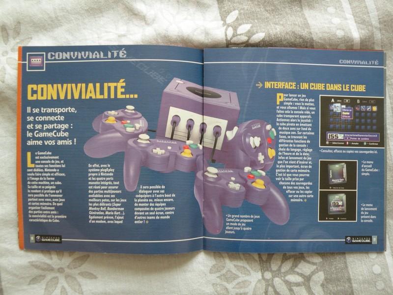 """Livret GameCube """"Les 6 faces du cube qui vont vous faire craquer"""" (2002)"""