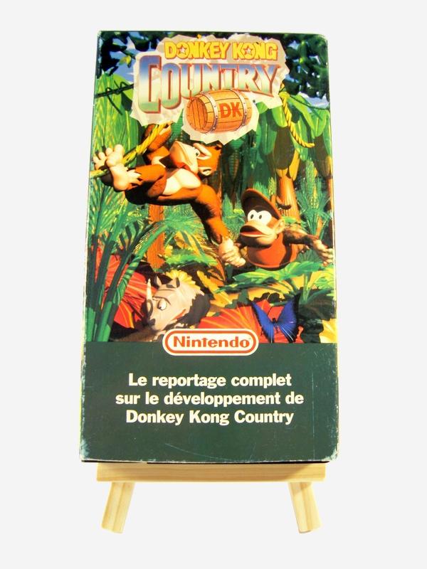 VHS Donkey Kong Country