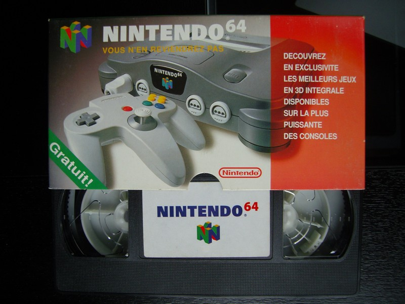 VHS catalogue Nintendo 64 (1997)