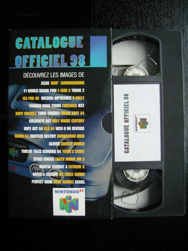 VHS catalogue Nintendo 64 (1998)