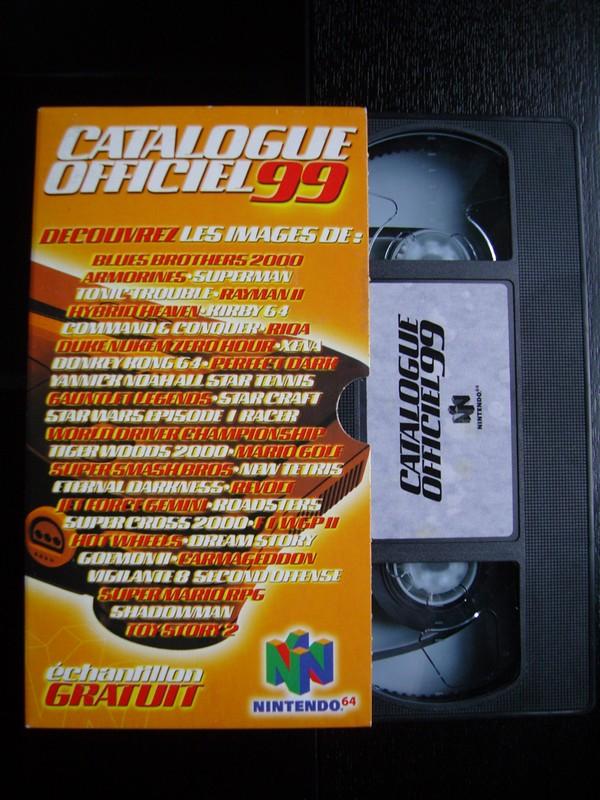 VHS catalogue Nintendo 64 (1999)