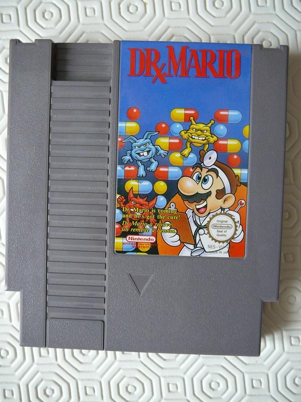 Cartouche Dr Mario