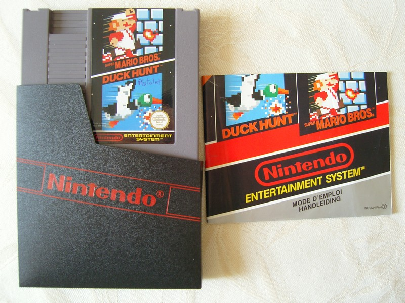 Cartouche Super Mario Bros / Duck Hunt