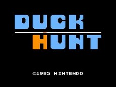 Duck Hunt in-game