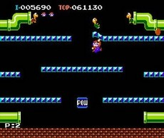 Mario Bros. in-game