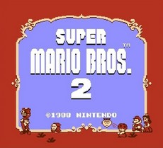 Super Mario Bros. 2 in-game