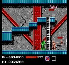 Teenage Mutant Hero Turtles in-game