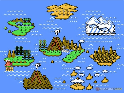 The Adventure Island Part II in-game