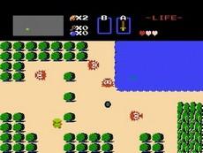 The Legend Of Zelda in-game