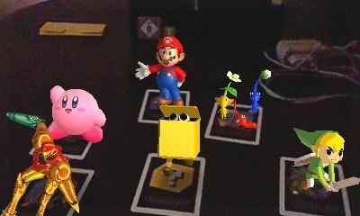Jeux en réalité augmentée - Nintendo 3DS