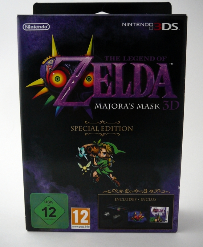 The Legend Of Zelda : Majora's Mask 3D Special Edition