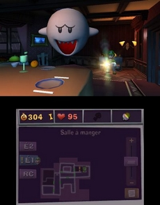 Luigi's Mansion 2 in-game