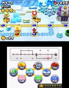 New Super Mario Bros. 2 in-game