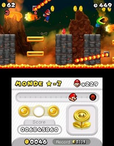 New Super Mario Bros. 2 in-game