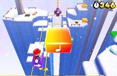 Super Mario 3D Land in-game