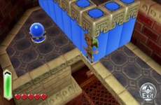 The Legend of Zelda : A Link Between Worlds in-game