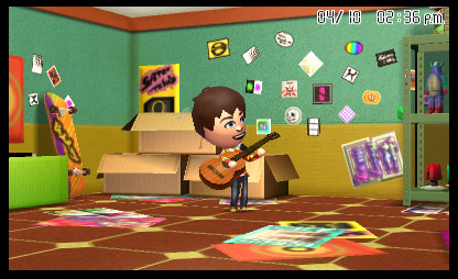 Tomodachi Life in-game