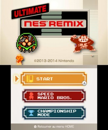 Ultimate NES Remix in-game