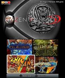 Zen Pinball 3D in-game