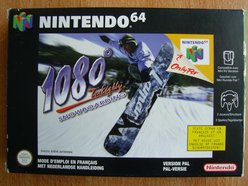 Boîte 1080° TenEighty Snowboarding