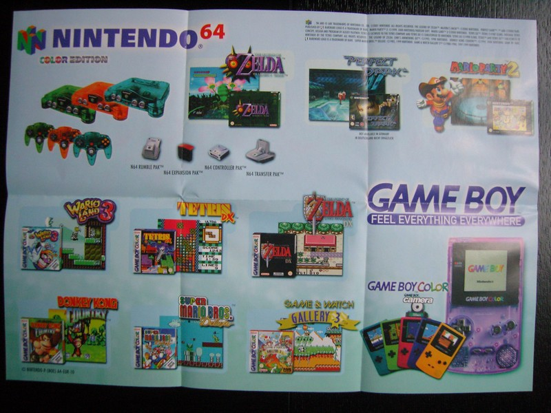 Publicité Nintendo 64 / Game Boy