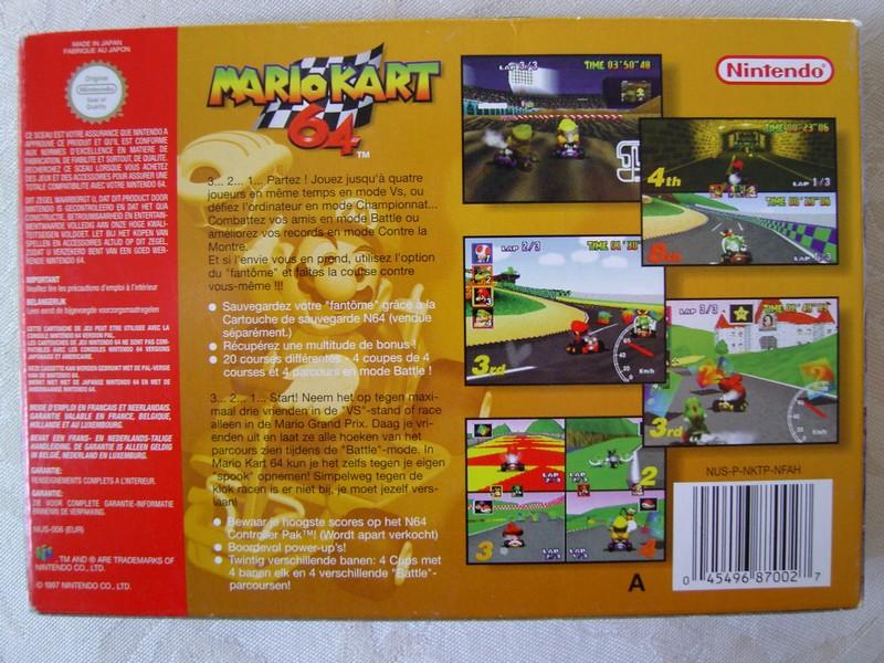 Boîte Mario Kart 64