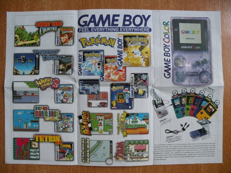 Publicité Game Boy Color