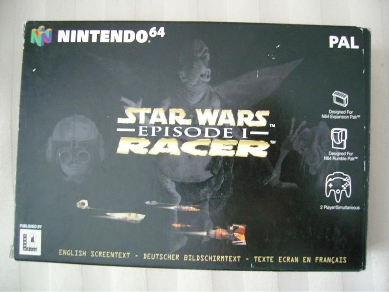 Boîte Star Wars Episode 1 Racer