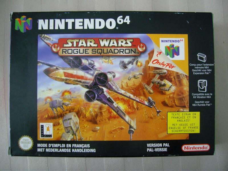 Boîte Star Wars Rogue Squadron