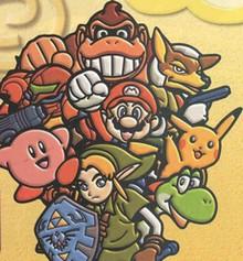 Artwork Super Smash Bros