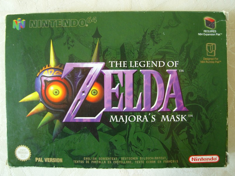 Boîte The Legend Of Zelda : Majora's Mask