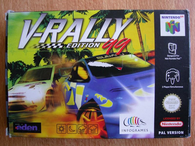 Boîte V-Rally 99