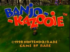 Banjo-Kazooie in-game