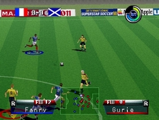 International Superstar Soccer 98 in-game