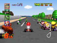 Mario-Kart-64 in-game