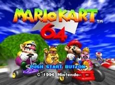Mario Kart 64 in-game