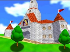 Super Mario 64 in-game