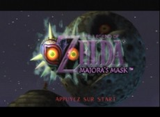 The Legend Of Zelda : Majora's Mask in-game